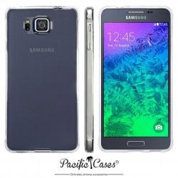 Coque gel pour Samsung Galaxy Alpha transparente cristal