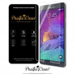 Film protection écran en verre trempé Samsung Galaxy Note 4 marque Pacific Cases®