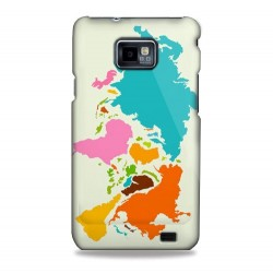 Coque cinq continents pour Samsung Galaxy S2
