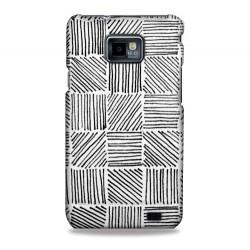 Coque traits noirs pour Samsung Galaxy S2