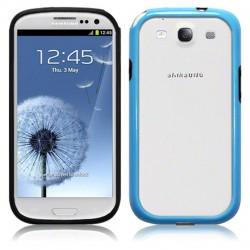 Bumper bleu et noir  Samsung SIII