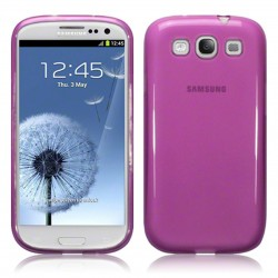 Coque violette translucide pour Samsung Galaxy S3