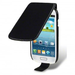 Etui noir à clapet pour Samsung Galaxy S3 mini
