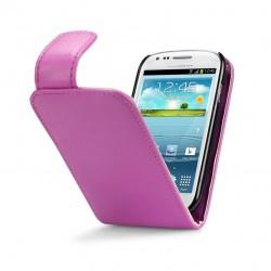 Etui rose à clapet pour Samsung S3 mini