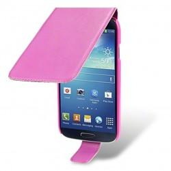 Etui rose à clapet pour Samsung S4
