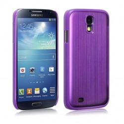 Coque en aluminium violet pour Samsung S4