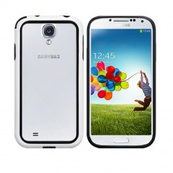 Bumper noir et blanc Pacific Cases® pour Samsung S4
