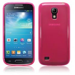 Coque rose translucide pour Samsung s4 mini