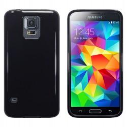 Coque noir brillant pour Samsung S5