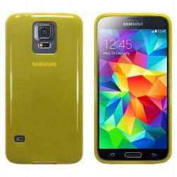 Coque jaune translucide pour Samsung S5