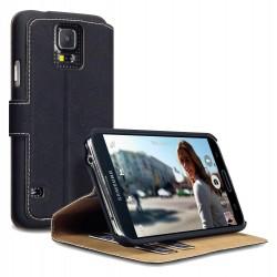 étui noir stand pour Samsung S5