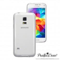 Coque gel pour Samsung S5 mini transparente cristal