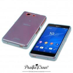 Coque pour Sony Xperia Z3 Compact bleu translucide