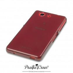 Coque pour Sony Xperia Z3 Compact noir fumé