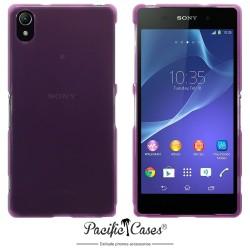 Coque violet translucide pour Sony Xperia Z2 par Pacific Cases