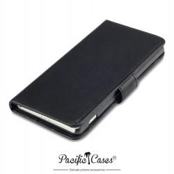 Etui noir folio pour Sony Xperia Z2 Pacific Cases