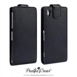 Etui noir clapet pour Sony Xperia Z2 Pacific Cases