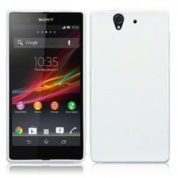 Coque blanc brillant pour Sony Xperia Z