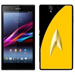 Coque Star Trek jaune avec uniforme Sony Xperia Z