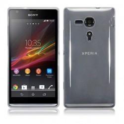 Coque transparente opaque pour Sony Xperia SP