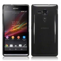 Coque noir fumé pour Sony Xperia SP