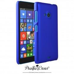Coque pour Microsoft Lumia 535 touché gomme Pacific Cases - bleu