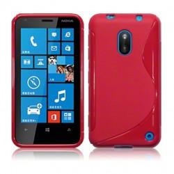Coque rouge pour Nokia Lumia 620