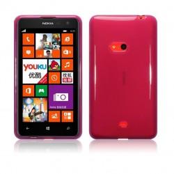 Coque pourpre translucide pour Nokia Lumia 625