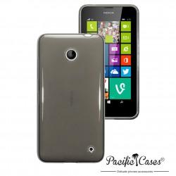 Coque noir fumé pour Nokia Lumia 630
