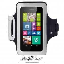 Brassard noir en néoprène pour Nokia Lumia 630