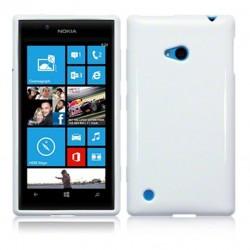 Coque blanc brillant pour Nokia Lumia 720