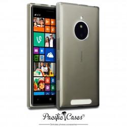 Coque pour Nokia Lumia 830 noir fumé translucide