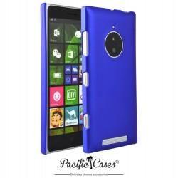 Coque pour Nokia Lumia 830 touché gomme marque Pacific Cases® - bleu foncé