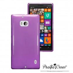 Coque gel pour Nokia Lumia 930 violet translucide