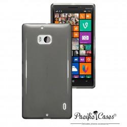 Coque gel pour Nokia Lumia 930 noir fumé transparent