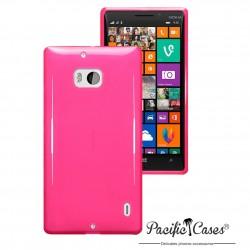 Coque gel pour Nokia Lumia 930 rose translucide