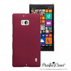 Coque rouge touché gomme pour Nokia Lumia 930
