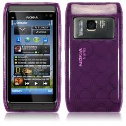 Coque gel pourpre pour Nokia N8