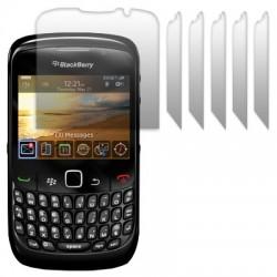 Protèges écran pour Blackberry 9300 Curve 3G pack de 6