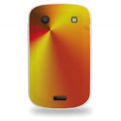 Coque avec motif dégradé orange pour Blackberry 9900
