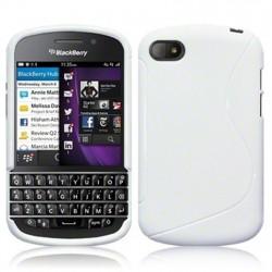 Coque blanche pour Blackberry Q10