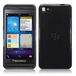 Coque noir fumé translucide pour Blackberry Z10