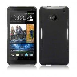 Coque noir fumé translucide pour HTC One