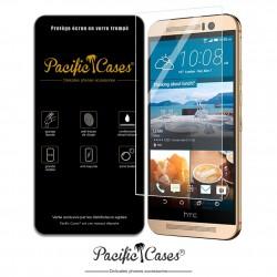 Film protection écran en verre trempé pour HTC One M9 marque Pacific Cases®
