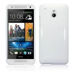 Coque blanc brillant pour HTC One Mini