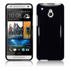 Coque noir brillant pour HTC One Mini