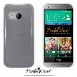 Coque pour HTC One Mini 2 transparente givre