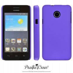 Coque pour Huawei Ascend Y330 touché gomme marque Pacific Cases® - mauve