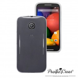 Coque transparente givre pour Motorola Moto E par Pacific Cases