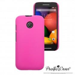 Coque rose gomme pour Motorola Moto E